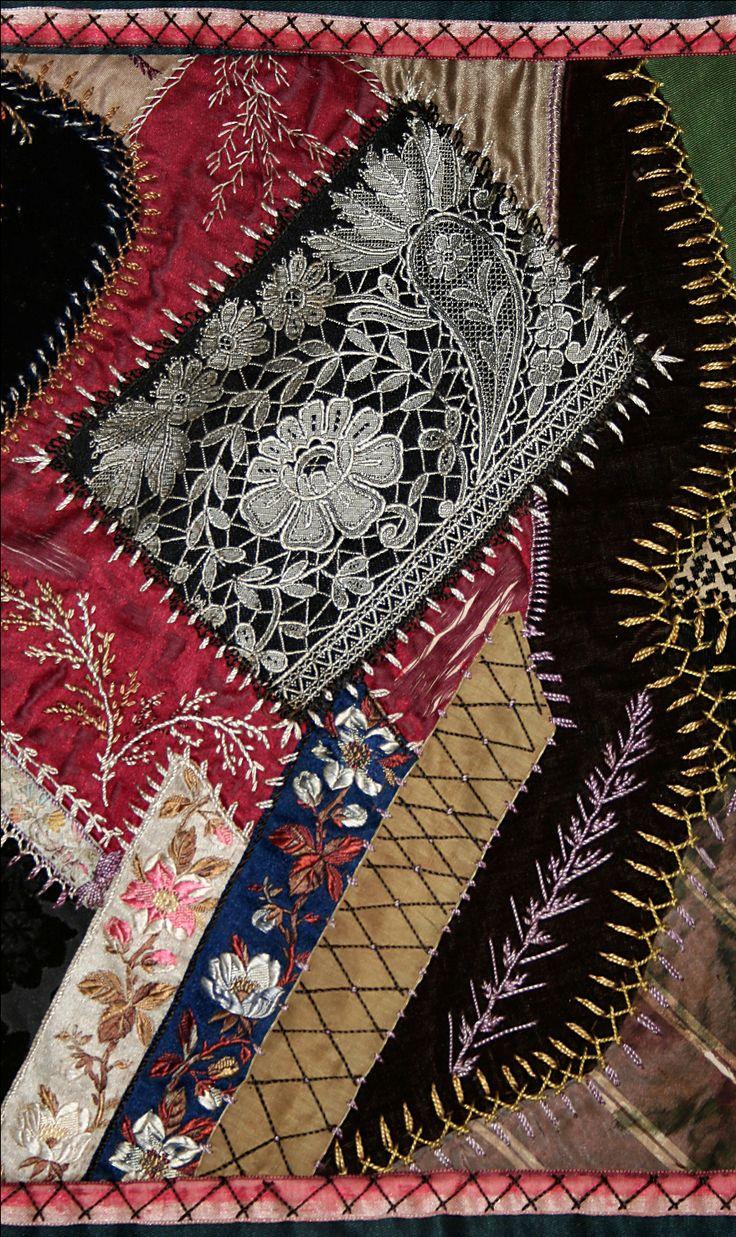 Crazy Quilts | Crazy Quilt III | Dimity's Fiber Adventures