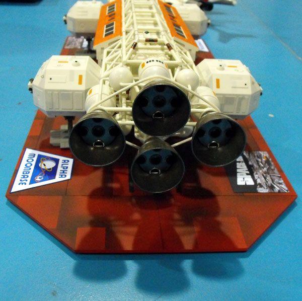 Rear nozzles 1/48 Eagle Transport