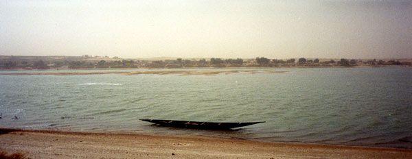 Bernard Plossu. Mali, 1990  Tirage au Stretch-Kodak