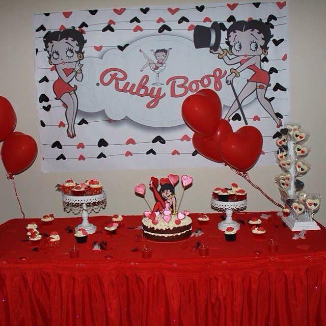Mesa de dulces betty boop