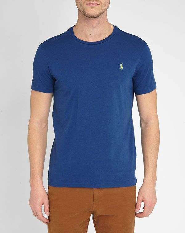 30% Descuento POLO Ralph Lauren, Royal Blue Pr Custom-Fit T-Shirt
