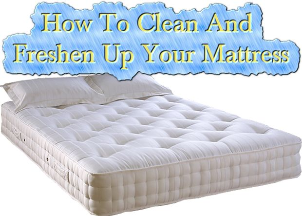 How To Clean And Freshen Up Your Mattress Read HERE --- > http://www.livinggreenandfrugally.com/clean-freshen-mattress/