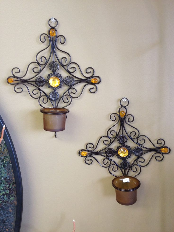 Great wall sconces that will compliment many styles of décor.