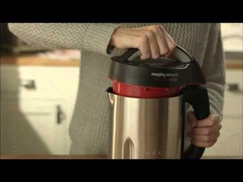 800w Steel Soup Maker - Morphy Richards 48823 | Creative Housewares