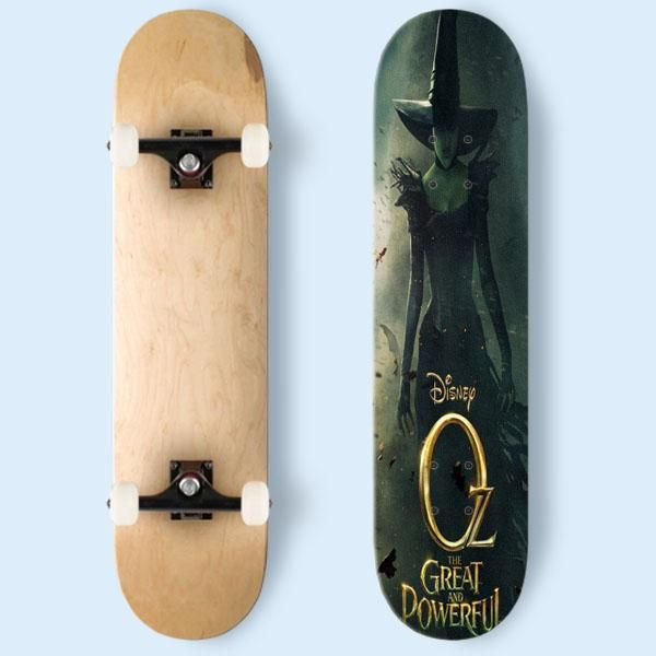 Oz The Great And Powerful Skateboard   Cozymoshi
