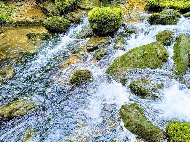 Kunstwerke der Natur. Heute: Wellenspiel im Bachbett.  #Naturmomente #Schwarzbubenland #Solothurn #Nunningen #Schweiz  #photooftheday #magicplaces #kraftorte #switzerland #switzerlandpictures #magicswitzerland  #nature #naturelovers #forest #winter