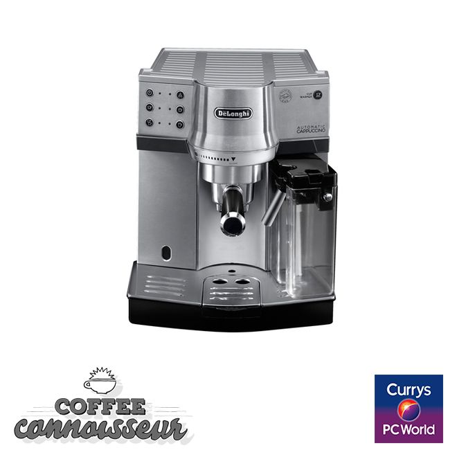 #PassionatePins DELONGHI EC860.M Espresso Machine www.currys.co.uk/gbuk/household-appliances/small-kitchen-appliances/coffee-machines-and-accessories/espresso-capsule-machines/delonghi-ec860-m-espresso-machine-silver-21485823-pdt.html?cmpid=social~pinterest~i~ecska