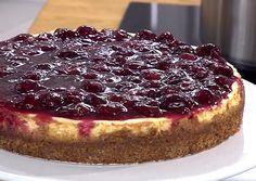 Cynthia Barcomi :: New York Cheesecake mit Yoghurt und Kirschen