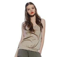 Geweldige Satijn achtige top van Cristina Gavioli | Collectie Cristina Gavioli | Fashionboutique Femelle