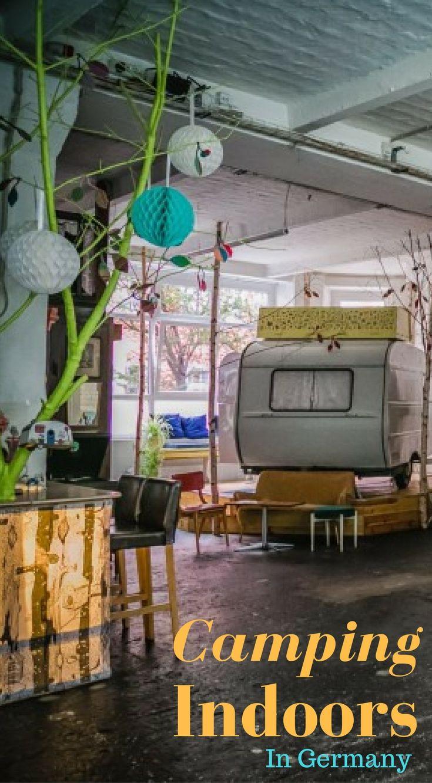 Camping in Berlin with Huettenpalast