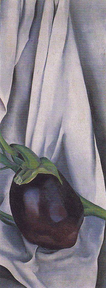 Georgia O'Keeffe. Eggplant The Plant 1924