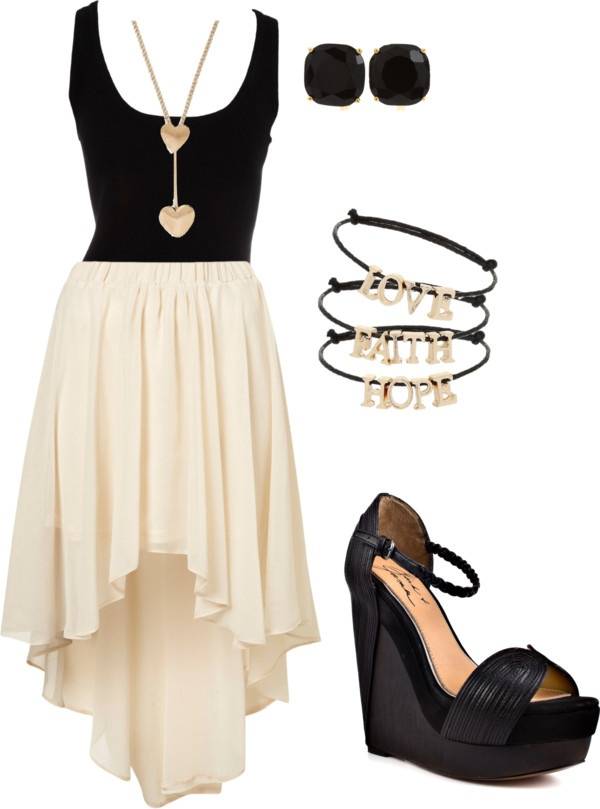 Simple and cute!!!Shoes, Fashion, Outfit Ideas, Skirts, Style, Dresses Outfit, Clothing, Black White, The Dresses