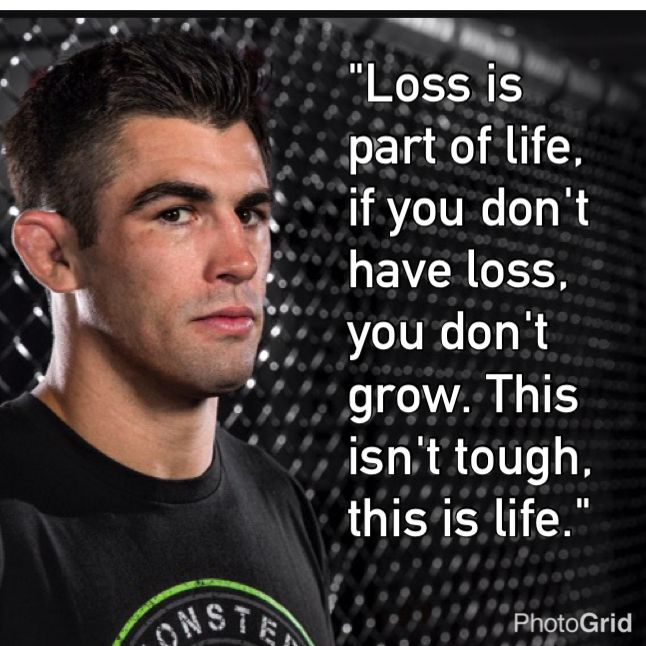 [Image] Former UFC Bantamweight Champion Dominick Cruz on loss