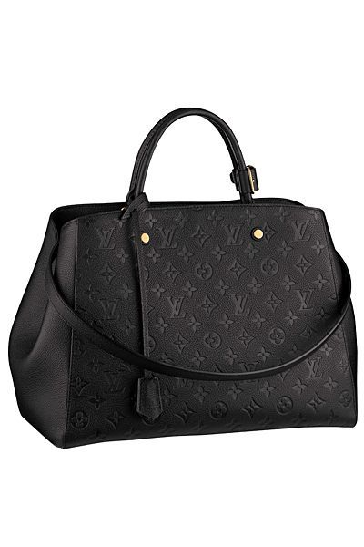 Louis Vuitton - Womens Accessories - 2014 Spring-Summer | See more about leather handbags, black bags and louis vuitton.