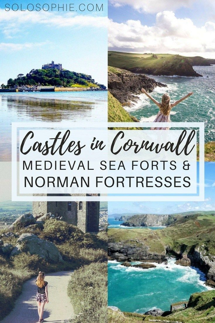 Castles in Cornwall: There are plenty of Cornish fortresses, medieval ruins, and fanciful country mansions. Here's your guide to the very best castles in Cornwall, England!