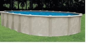"""12' x 24' x 54"""" Oval Floridian Above Ground Pool - Complete Kit $3800 National Discount Pool Supplies LLC"""