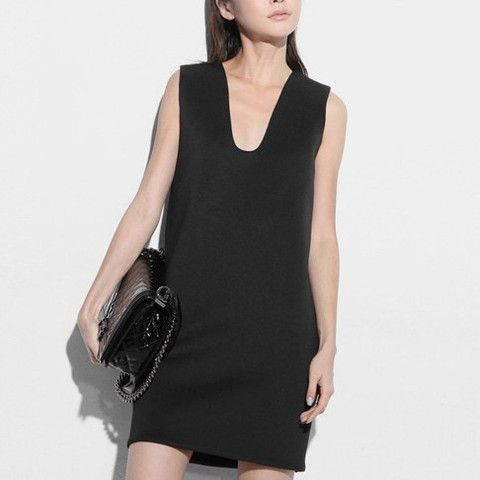 Alana Cut Out Neoprene Dress- Black $85.00 http://www.helloparry.com/collections/new-arrival/products/alana-cut-out-neoprene-dress-black
