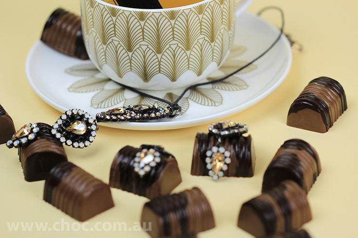 Fine China Cup  Made with Couverture Chocolate  Fardoulis Chocolates, Chocolate Plato  www.choc.com.au