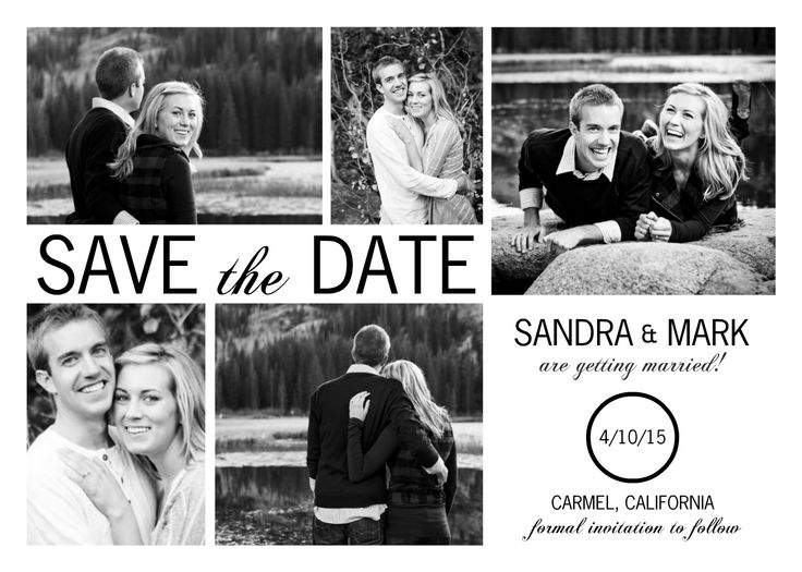 New Save the Date Cards