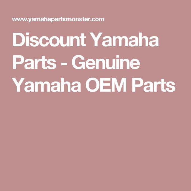 Discount Yamaha Parts - Genuine Yamaha OEM Parts