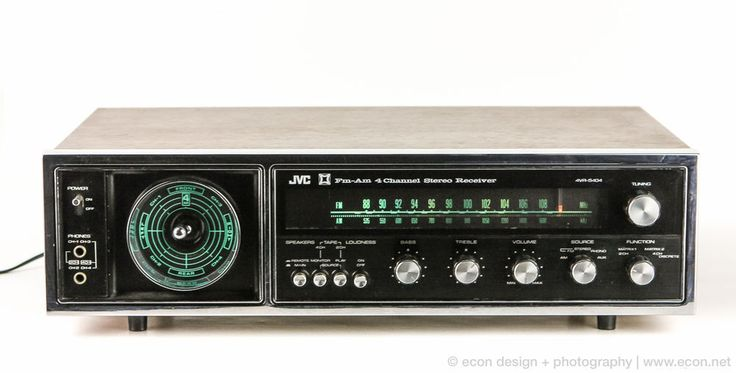 Vintage Jvc 4vr 5404 4 Channel Quad Stereo Am Fm Receiver