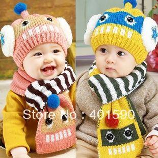 Accesorios de los niños invierno ropa de la estrella bombardero sombreros y gorras para bebés niños niñas niños 1 a 4 años edad de 4 colores eligen en Conjuntos de Bufanda, Gorro y Guantes de Bebés en AliExpress.com | Alibaba Group