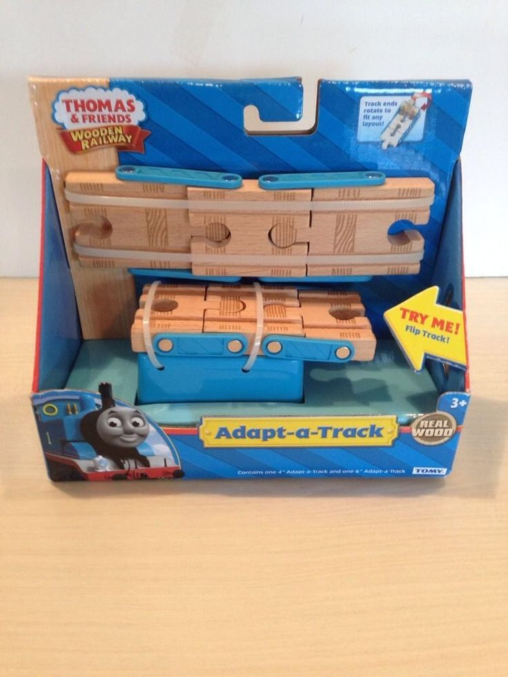 Thomas and Friends Adapt-a-Track Wooden Railway NIP #TOMY