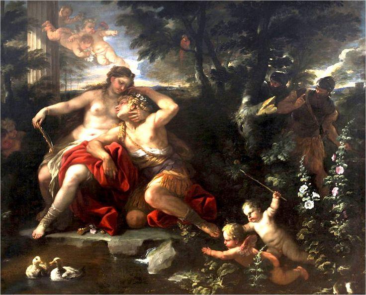 Rinaldo a Armida - Luca Giordano