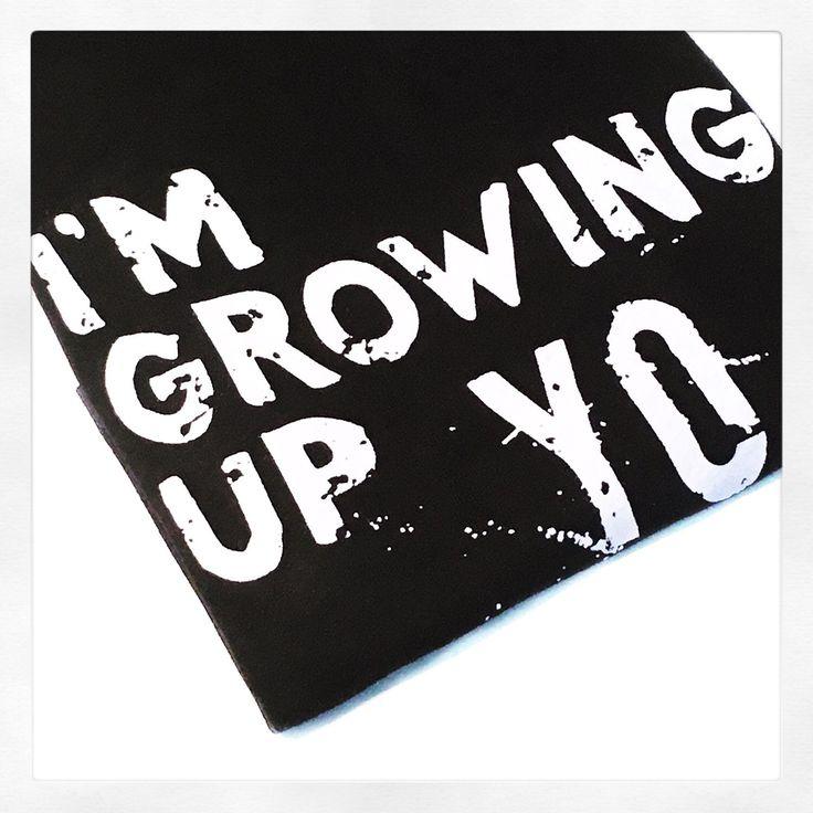 1st Birthday Outfit - Boy Shirts - Girl Shirts - Toddler Tshirt - Trendy Baby - Hipster Baby Boy - Monochrome Baby - Im Growing Up Yo White by SterlingandBirch on Etsy https://www.etsy.com/listing/265198337/1st-birthday-outfit-boy-shirts-girl