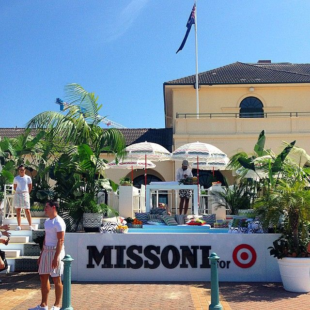Hello #MissoniForTargetAus! Yesterday we welcomed the iconic Italian fashion label at one of the most iconic locations in Australia – Bondi Beach. Remember: collection goes on sale 8am AEDT this Wed 8.10. #sydney #bondibeach #missoni #targetaustralia