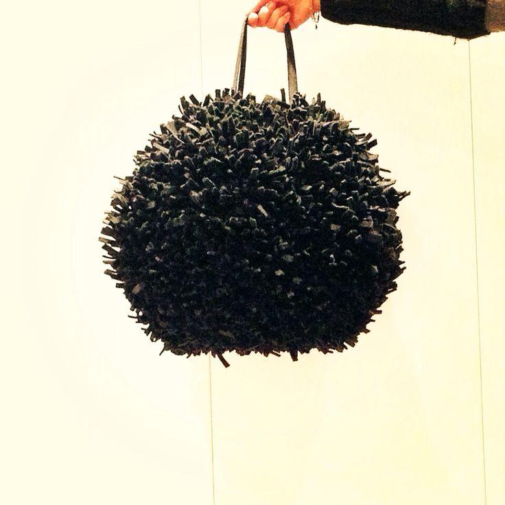 Bag/pieces of felt/fringes/handmade whit love by kalikù design
