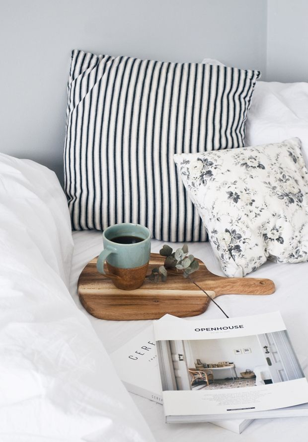 Sea-green and terracotta mugs by The Other Duckling | Weekend Rituals | These Four Walls blog