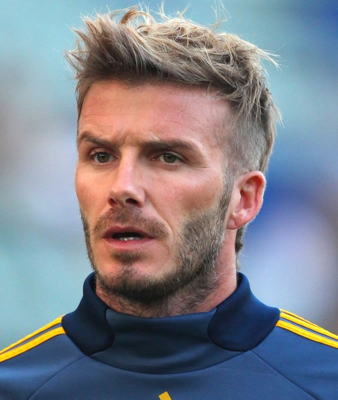 David Beckham Frisur Kurz David Beckham Hairstyle Beckham Hair Beckham Haircut
