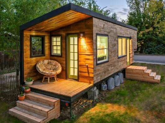 Nice Macys Tiny House In Idaho