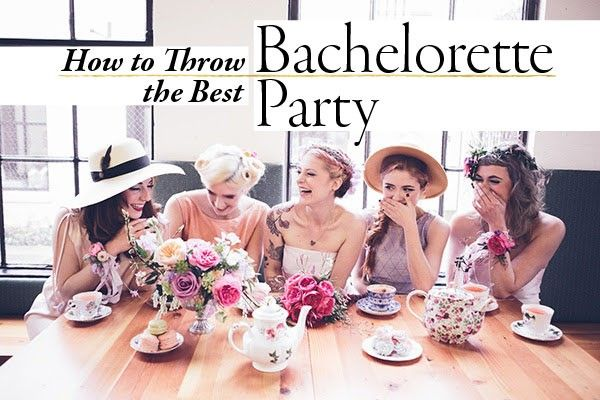 How to throw the best bachelorette party ... via http://junebugweddings.com/wedding-blog/blogger-bride-bachelorette-party/