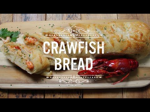 Crawfish Bread Recipe | Find more at www.visitlakecharles.org/recipes