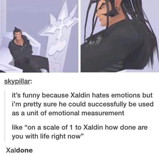 Xaldin is Xaldadon with this