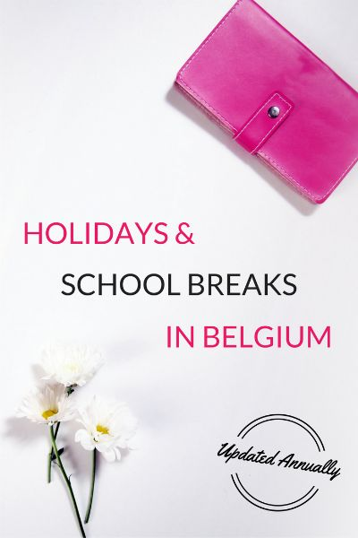 A list of all official and government holidays in Belgium (updated annually!)