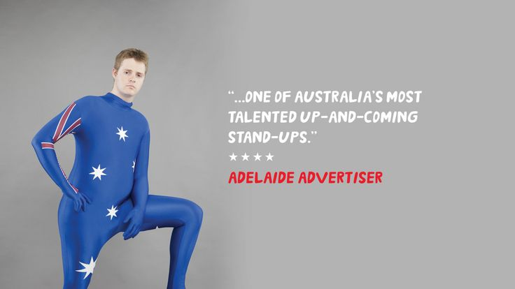 "Described as an ""impressive performer"" by the Herald Sun, ""whip-smart"" by The Age and ""one of the most original, fearless and hilarious voices in Australian comedy"" by Wil Anderson. You would've also heard him on triple j breakfast. 