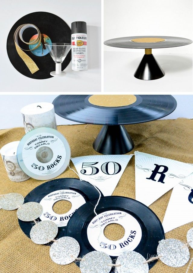 Anders Ruff Custom Designs, LLC: A Modern Geometric Birthday Party Celebrating a Milestone