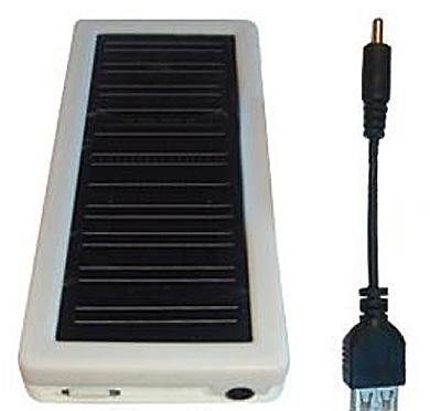 Batterie solaire pour smartphone