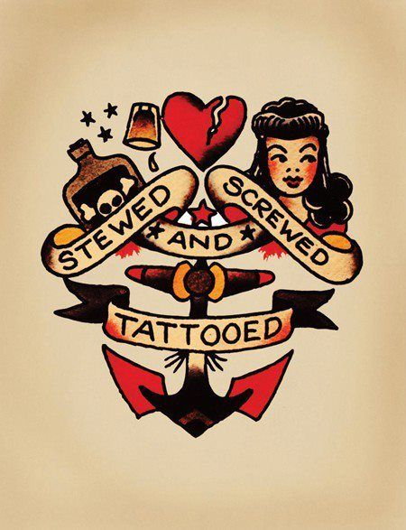 my first sailor Jerry tattoo