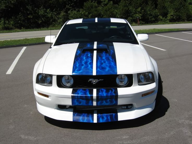 Mustang.... awesome paint job!
