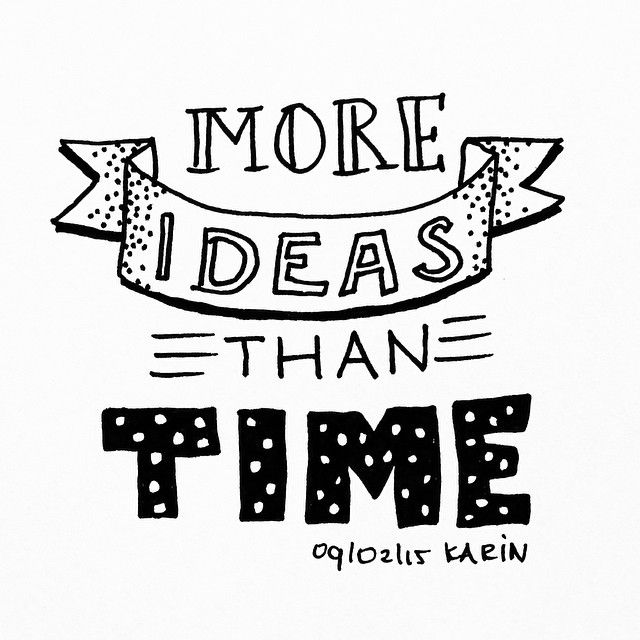 More ideas than time! #lettering #handlettering #paperfuel