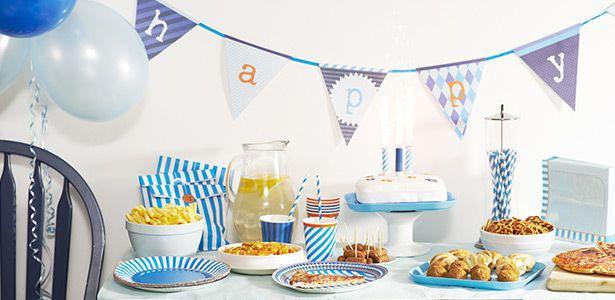 Decorazioni Blue Party per compleanni con VegaooParty