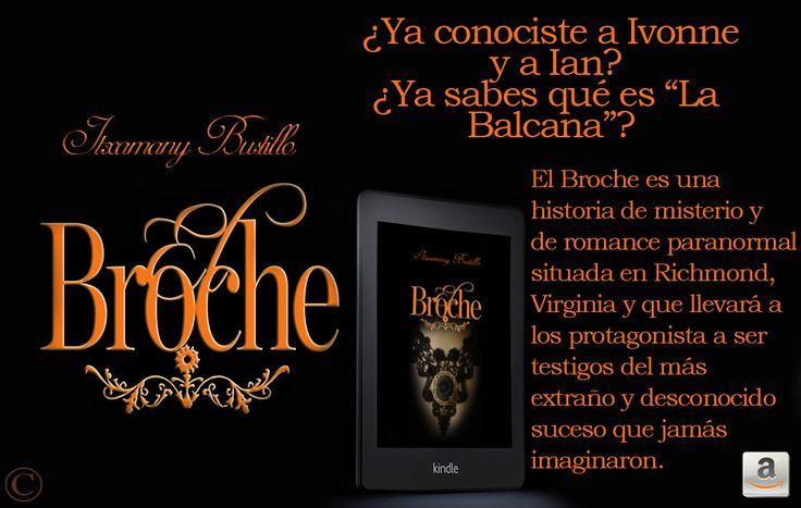 """Reseña de """"El Broche"""" de Itxa Bustillo en el blog de Las Irreverentes: http://irreverentesblog.blogspot.com/2016/01/resena-el-broche-de-itxa-bustillo.html"""