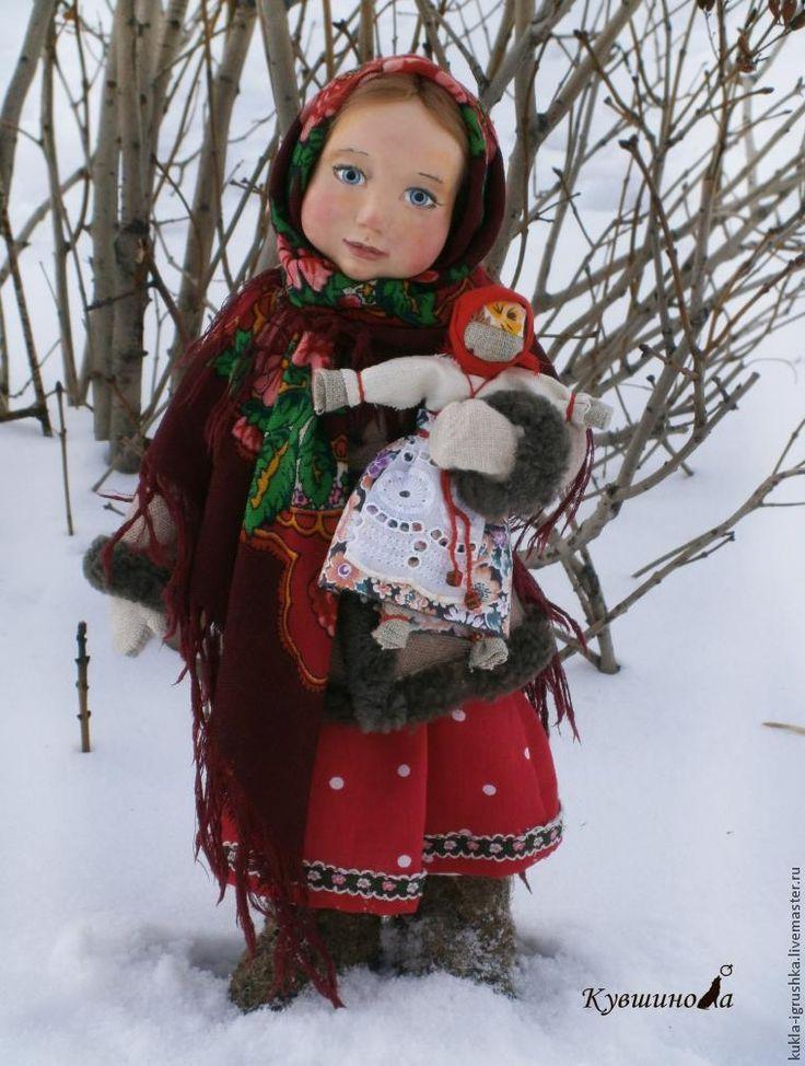 МК Лепка головы куклы из полимерной глины - Ярмарка Мастеров - ручная работа, handmade