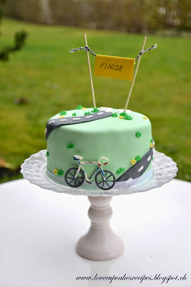 Best 25 Bicycle Cake Ideas On Pinterest