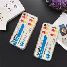 欧米風 MOSCHINO モスキーノ iphone8/7s/7s plus/7/7 plus/6s保護カバー 薬の造型 ユニーク 個性ケース 超人気 若い男女愛用