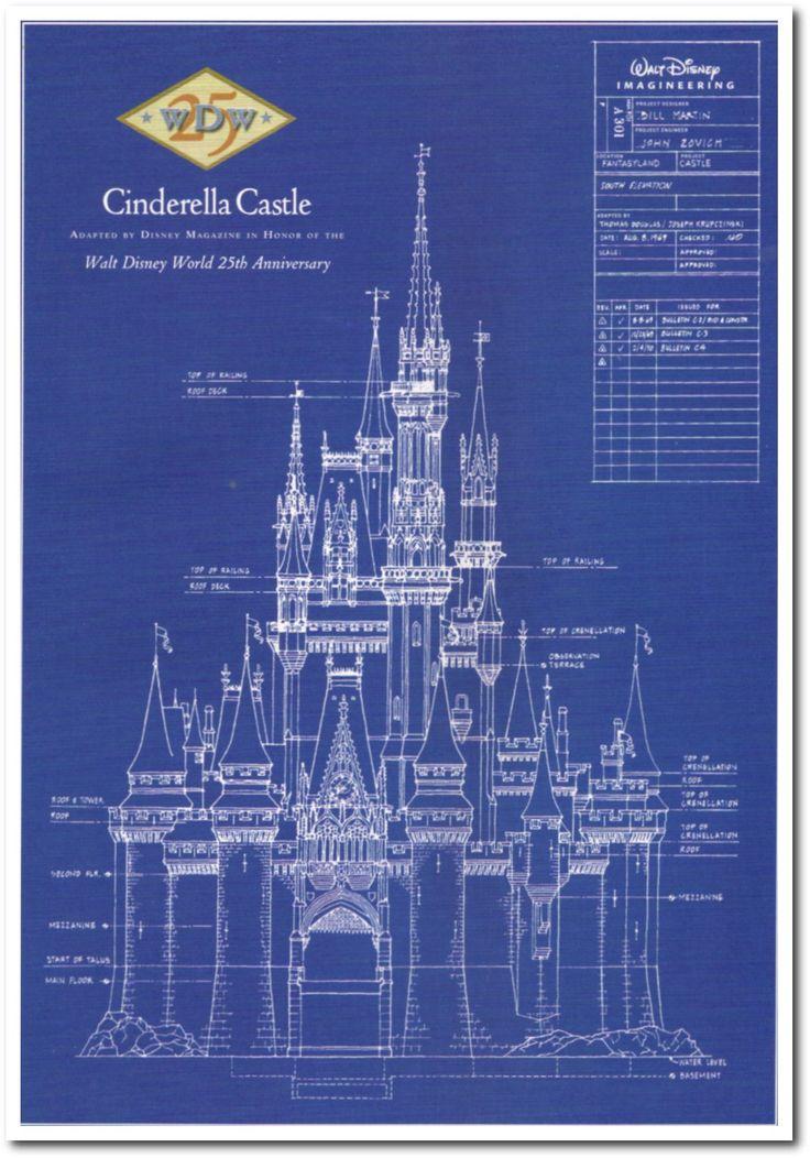 Walt Disney S Cinderella Castle 25th Anniversay